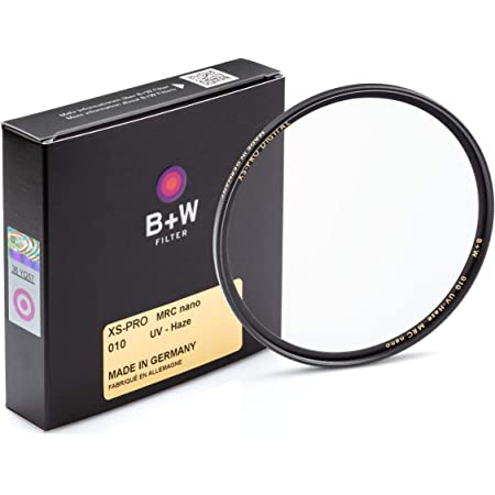 B + W 77mm UV Protection Filter (010) for Camera Lens - Xtra Slim Mount (XS-PRO), MRC Nano, 16 Layers Multi-Resistant and Nano Coating, Photography Filter, 77 mm, Clear Protector