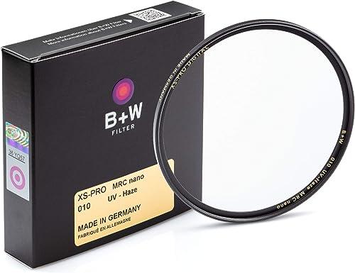 B+W 77mm XS-Pro Clear UV Haze with Multi-Resistant Nano Coating (010M)