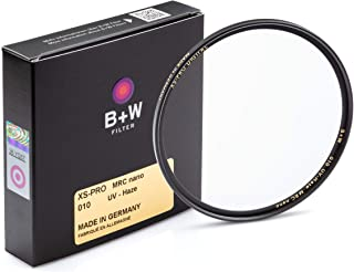 B + W 49mm UV Protection Filter (010) for Camera Lens - Xtra Slim Mount (XS-PRO), MRC Nano, 16 Layers Multi-Resistant and Nano Coating, Photography Filter, 49 mm, Clear Protector