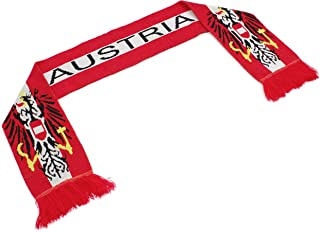 """High End Hats Official Nations Europe Scarf Collection"""" Double Weave Head Scarf Men Women, Euro Soccer National Symbols"""