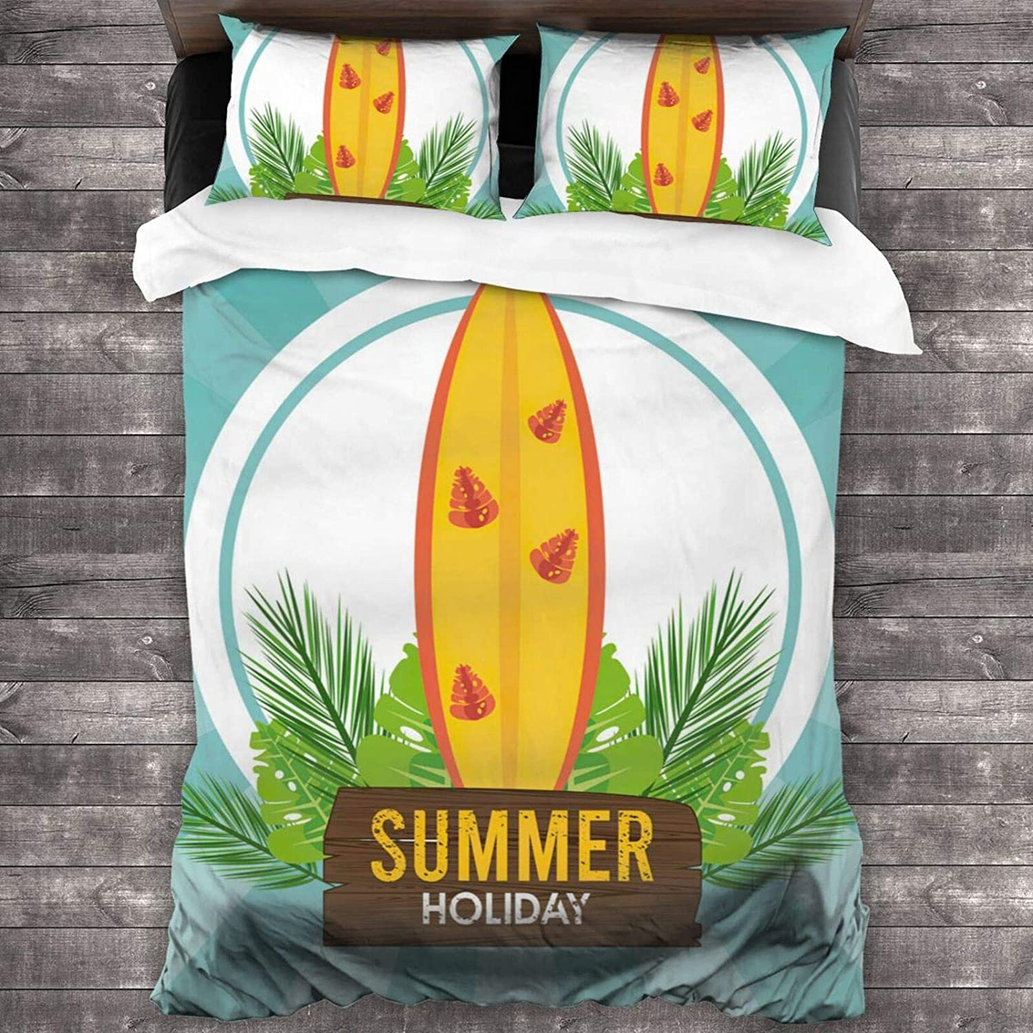 FASHLOVE Summer Holiday Label Store with Set Board Surf Comforter Micr Ranking TOP3