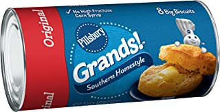 Pillsbury Grands! Refrigerated Biscuits Southern Homestyle Original 8 Count 16.3 oz Can