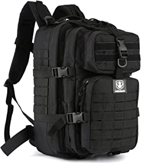 Barbarians Upgraded SBS Zipper Tactical Molle Backpack, 3 Day Assault Pack Bug Out Bag for Outdoor Hiking Camping Trekking Hunting 35L