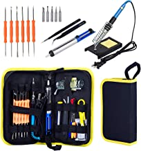 Wmore Soldering Iron Kit,Includes:110V 15 to 60W Variable Temperature Soldering Iron,6pcs Solder Aid Tools, 1xScrewdriver,...