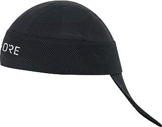 M Pañuelo de cabeza unisex, Talla: única, Color: Negro