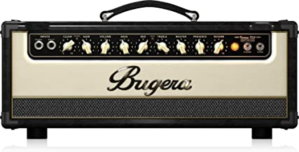 BUGERA V55HD-INFINIUM 55-Watt Vintage 2-Channel Amplifier Head with Infinium Tube Life Multiplier and Reverb Multi Colored, (V55HDINFINIUM)