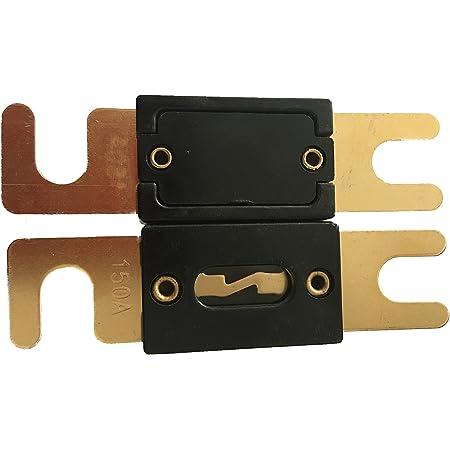 Kolacen Anl Vergoldete Sicherung 300 Amp Anl Sicherungshalter 1 Stück Auto