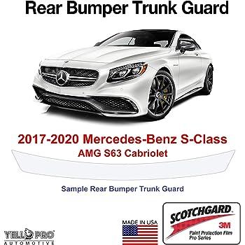 YelloPro Custom Fit Rear Trunk Bumper Edge 3M Scotchgard Paint Protector Film Anti Scratch Clear Bra Self Healing Guard Kit for 2020 Mercedes Benz GLE Class 350 450 SUV