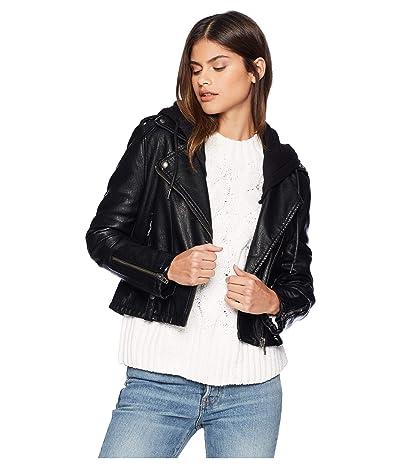 Blank NYC Faux Leather Moto Jacket (Neo) Women