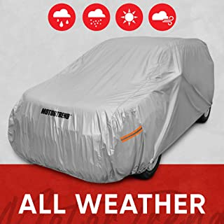 Motor Trend Safeguard Car Cover for Vans/SUV - Advanced Protection Formula All Weather Waterproof Outdoor Vehicle Cover, F...