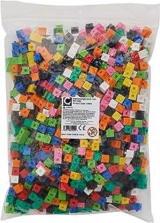 edx education 53909 Cubos de construcción, 1cm, 1000 unidades