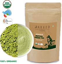 Jarved 100% Pure Japanese Matcha Green Tea Powder: 1 Month Slimming and Detox, Full of Antioxidants (30gm : Makes 30 Cups)