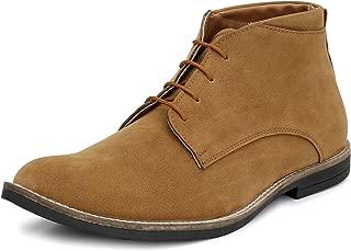 HiREL'S Men's Suede Chukka Boots