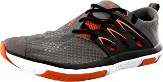 Turner T-Fleerun Shoes - Men's - Grey/Orange/Black, 10.5