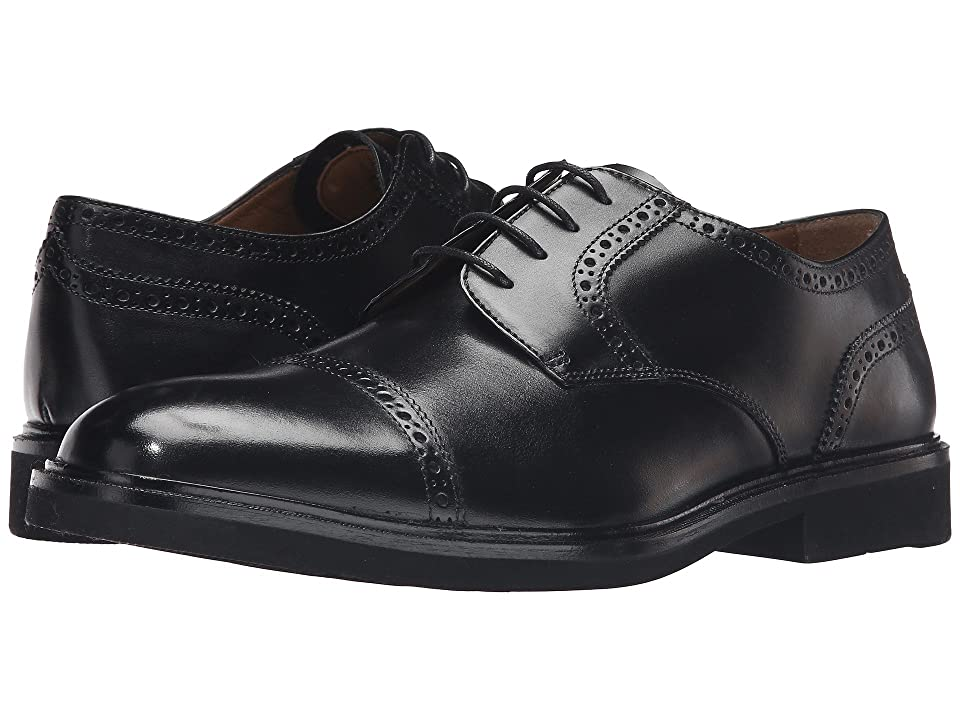 Florsheim Hamilton Cap Toe Oxford (Black Smooth) Men