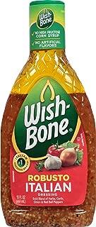 Wish-Bone Salad Dressing, Robusto Italian, 15 Ounce