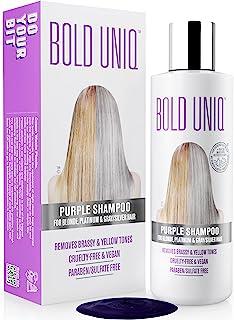 Shampoo Antigiallo Per Capelli Biond - Tonalizzante Capelli - Silver Shampoo Per Toni Violacei - Rivitalizza i Capelli Bio...