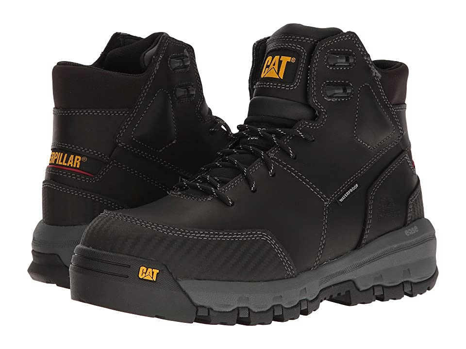 Caterpillar Device Waterproof Composite Safety Toe (Black) Men