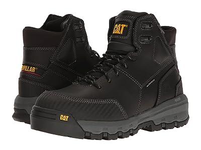 Caterpillar Device Waterproof Composite Safety Toe (Black) Men
