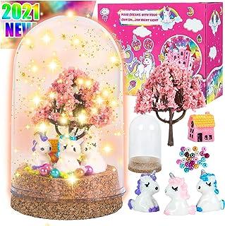 Unicorn Night Light, Unicorns Gifts for Girls Arts and Crafts Nightlight Kids DIY Creative Room Decor Bedroom Home Decorat...