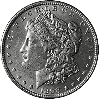 1898 O Morgan Dollar $1 About Uncirculated