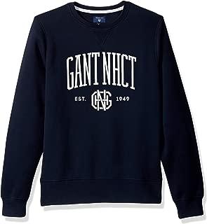 gant lightweight cotton crew neck jumper