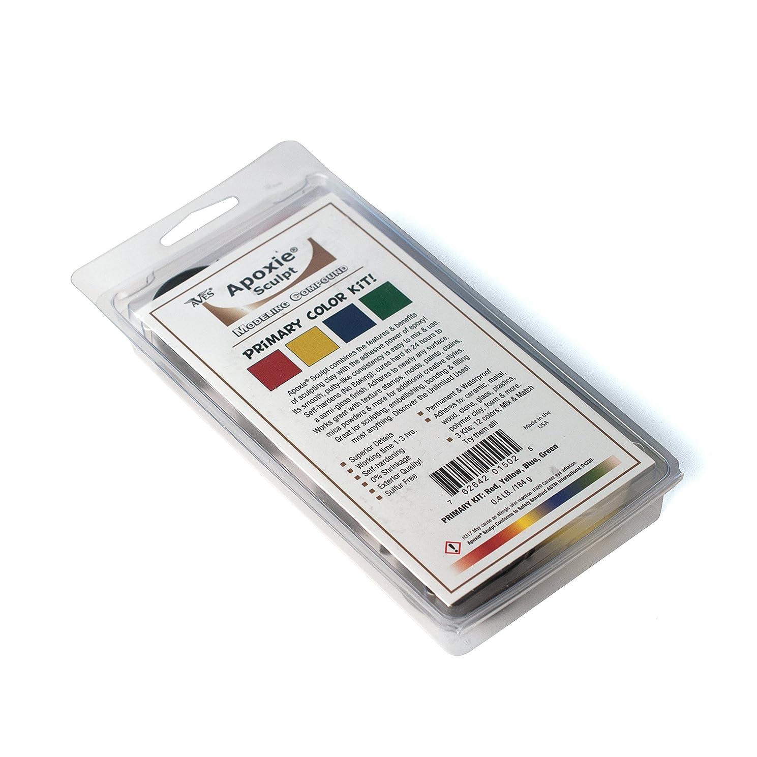 Apoxie Sculpt Color Kit: Primary