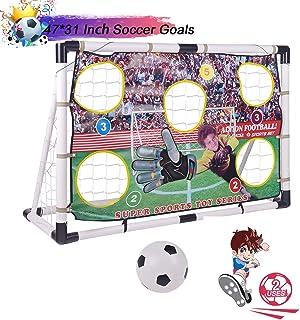 Portzon Portable Soccer Goal Set,Soccer Goals for...
