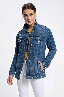 DeFacto Kadın Denim Ceketler Denim Ceket