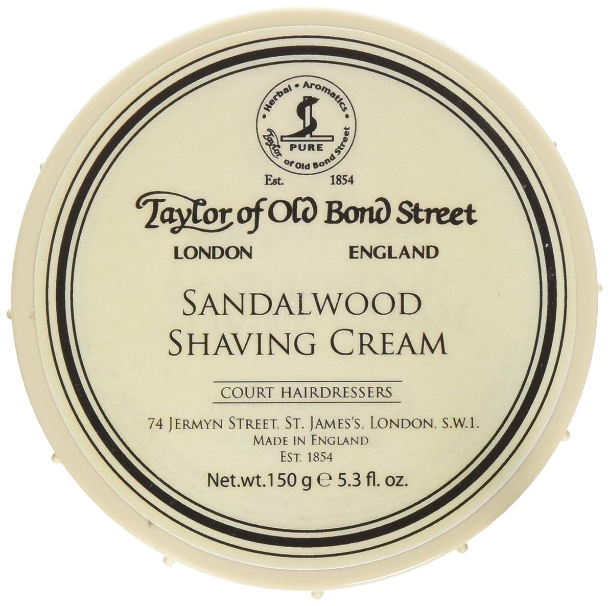 平衡キャラバンさておきTaylor of Old Bond Street Sandalwood Shaving Cream Bowl, 5.3-Ounce 2PK by Taylor of Old Bond Street [並行輸入品]