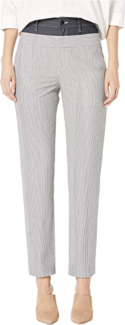 Stripe Seersucker Pants