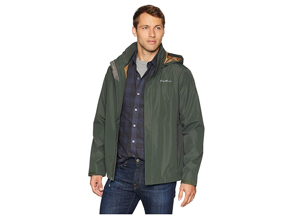 Eddie Bauer Packable Rainfoil Jacket (Dark Loden) Men