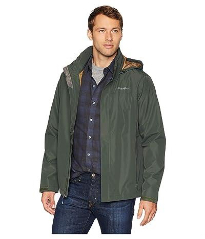 Eddie Bauer Packable Rainfoil Jacket (Dark Loden) Men