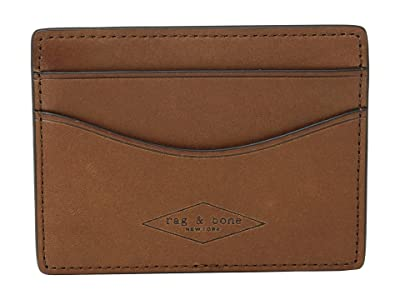 rag & bone Hampshire Card Case (Brown Combo) Credit card Wallet
