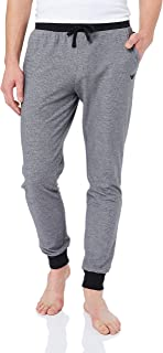 Emporio Armani Bodywear Men's Pants with Cuffs Men's Knit Trousers