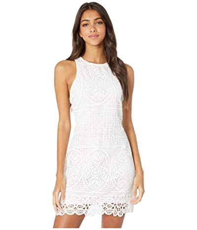 Bishop + Young Love In Crochet Dress (White) Women