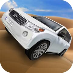 4X4 Desert Driving Beautiful Dunes. Racing Game Simulator Desert Dunes