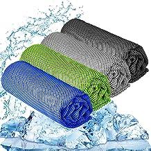 "YQXCC Cooling Towel 3 Pcs (47""x12"") Microfiber Towel for Instant Cooling.."