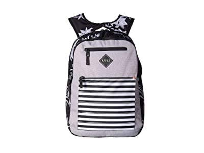 Roxy Here You Are Backpack (True Black Full Bicolys) Backpack Bags
