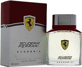 Ferrari Scuderia Eau de Toilette Spray for Men, 1 Ounce