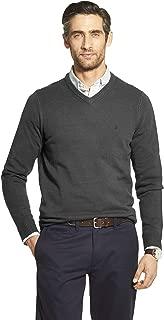 Men's Premium Essentials Solid V-Neck 7 Gauge Sweater