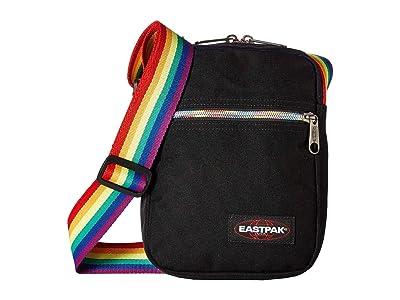 EASTPAK The One (Rainbow Black) Cross Body Handbags