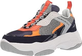 Jeans Marvin Mens Navy/Grey/Orange Sneakers