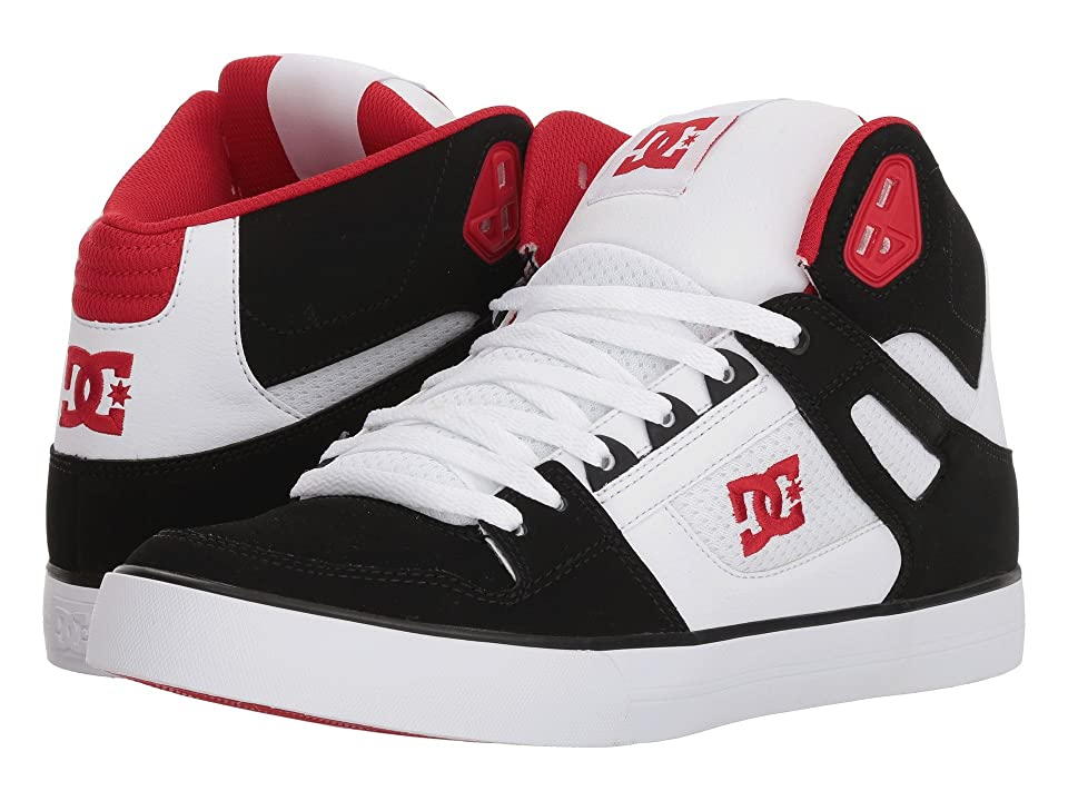 DC Pure High-Top WC (White/Black/Red) Men