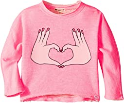 Slouchy Sweatshirt (Toddler/Little Kids/Big Kids)