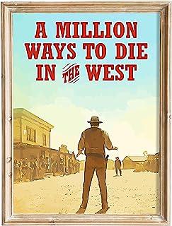 FANART369 Een miljoen manieren om te sterven in het Westen #4 poster A3 formaat fanart Film poster muur kunst print decor ...