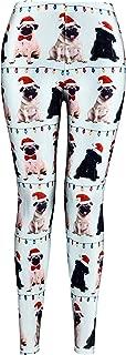 christmas pug leggings
