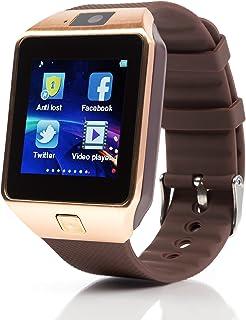 10d71b83937135 Piqancy DZ09 Gold phone Black Smartwatch price in India June 2019 ...