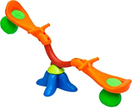 Best Choice Products Kids Toddler 360 Degree Swivel Seesaw Bouncer, Multicolor