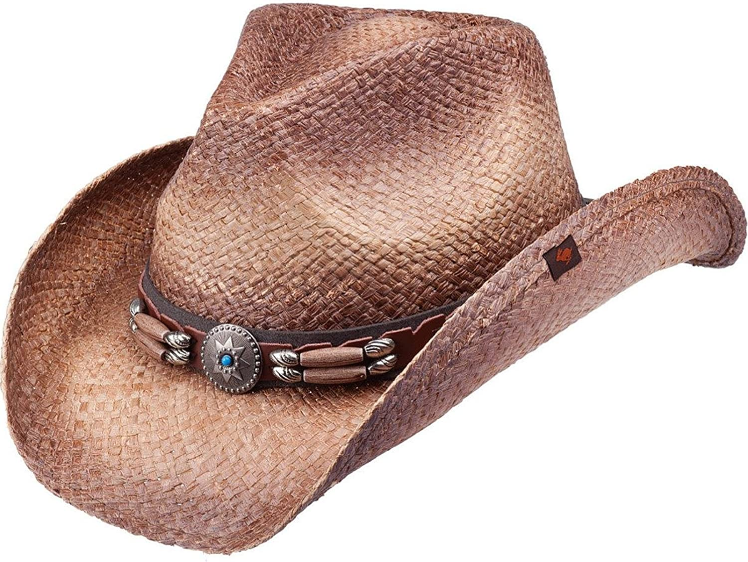 Peter New sales Grimm Ltd Unisex Contraband Straw Brown Spring new work one after another Hat Cowboy Siz One